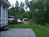 שתי לסביות ושני גברים עושים רביעייה באחד הבתים